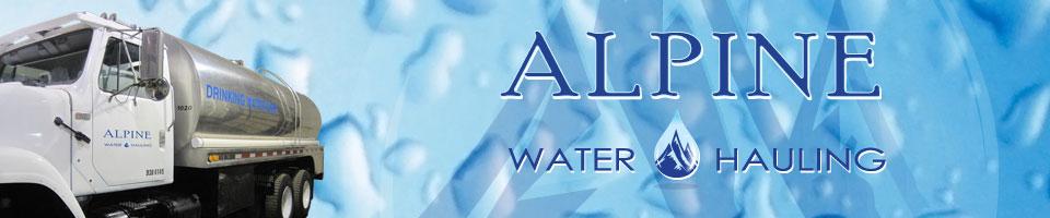 Alpine Water Hauling